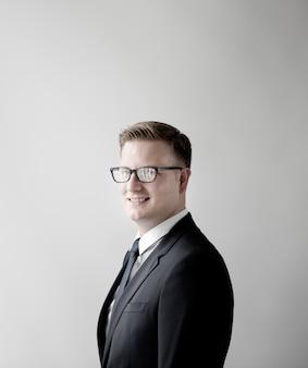 Geschäftsmann formal wear professional-unternehmenskonzept