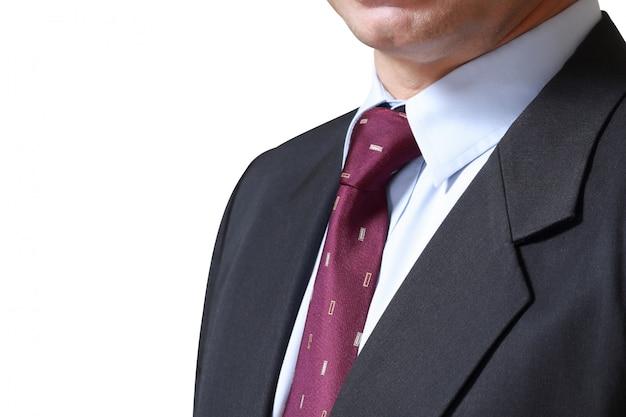 Geschäftsmann, isoliert auf weißem hintergrund. konzept für unternehmen