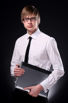 Geschäftsmann jung und attraktiv