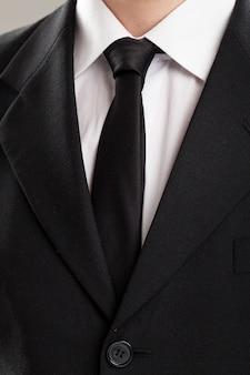 Geschäftsmann torso in anzug