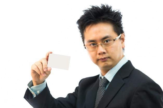 Geschäftsmann visitenkarte