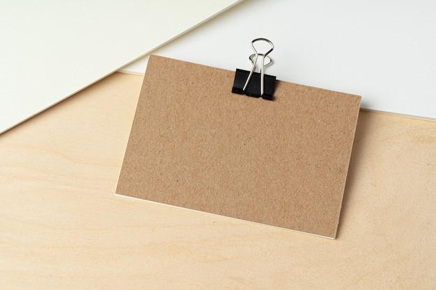 Geschäftsmodell von visitenkarten, nahaufnahme