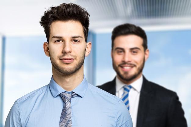 Geschäftspartner im büro