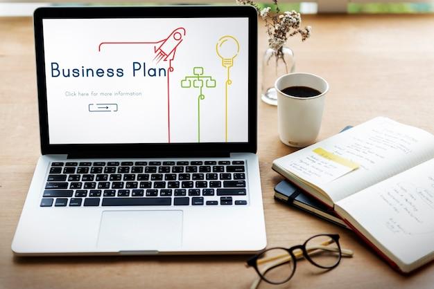 Geschäftsplan unternehmensentwicklungsprozess