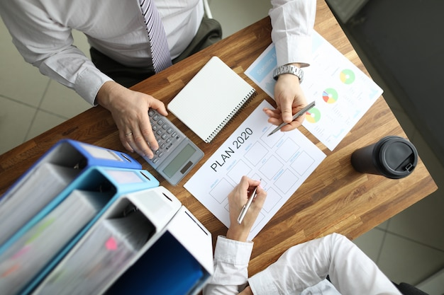 Geschäftsplanung der strategie