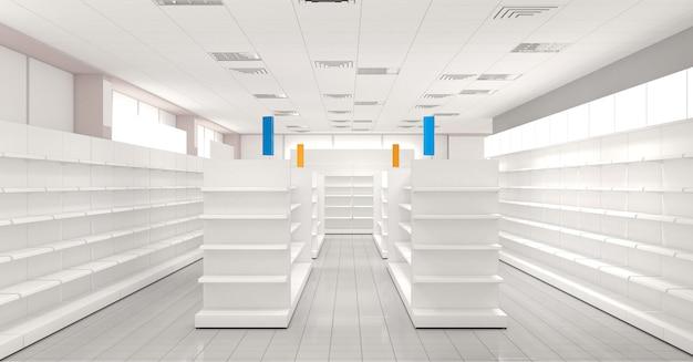 Geschäftsräume, geschäft, innenvisualisierung