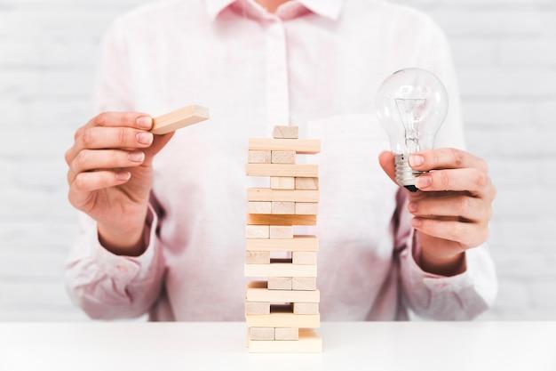 Geschäftsstrategie und ideenkonzept
