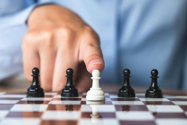 Geschäftsstrategie und planungskonzept.