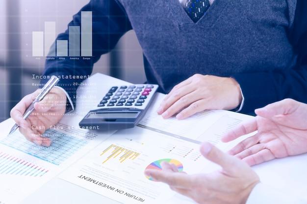 Geschäftsverlauf und return on investment