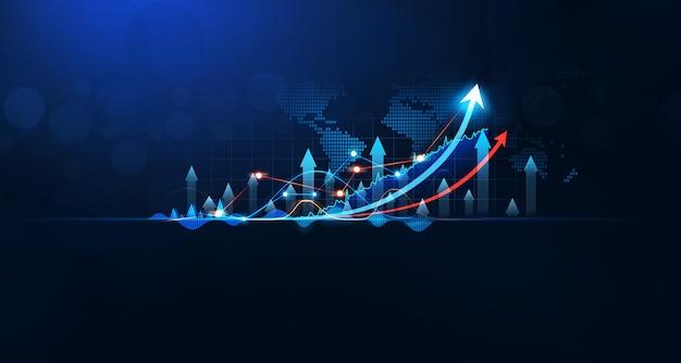 Geschäftswachstumsplan und strategisches finanz- und investitionskonzept