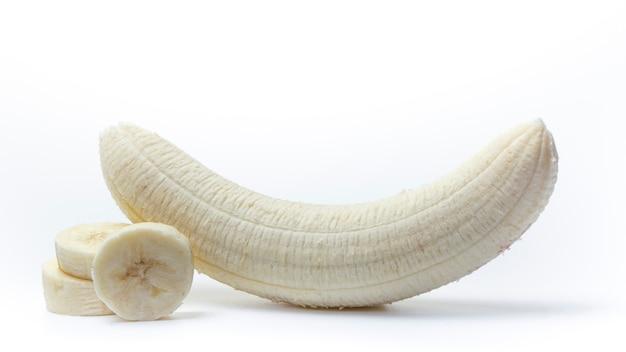 Geschälte Banane