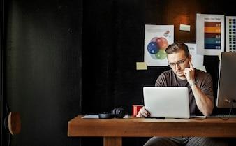Geschäfts-zeitgenössisches Firmenstrategie-Firmenkonzept