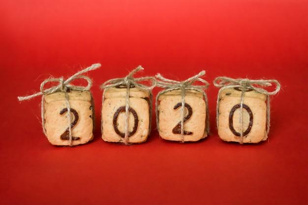 Geschenk festliche weihnachtsziffern 2020