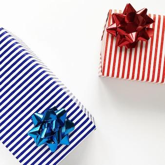 Geschenk mit schleife für valentinstag und geburtstag