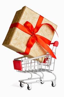 Geschenk-shopping-konzept