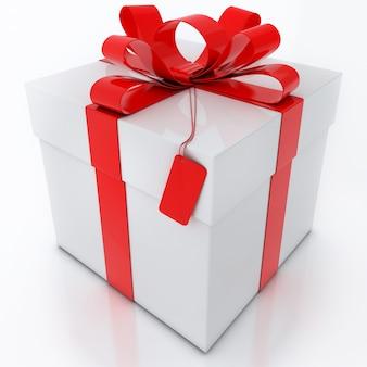 Geschenkbox isoliert