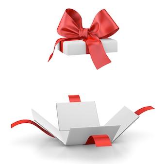 Geschenkbox oder geschenk isoliert