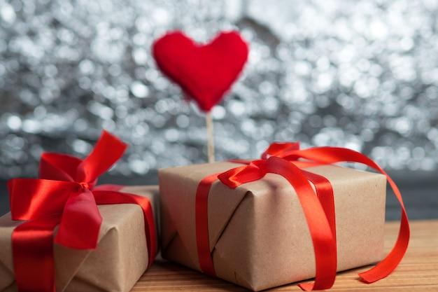 Geschenkbox zum valentinstag