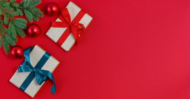 Geschenkboxen stock foto banner abstrakte hintergründe leer