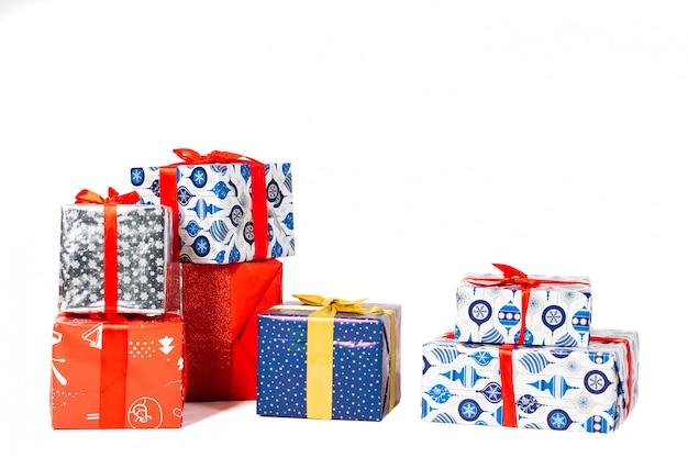 Geschenke auf weiß