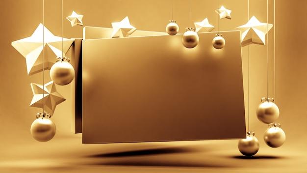 Geschenkgutschein, zertifikat, neujahr, weihnachten, feiertag