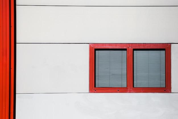 Geschlossenes stadtfenster