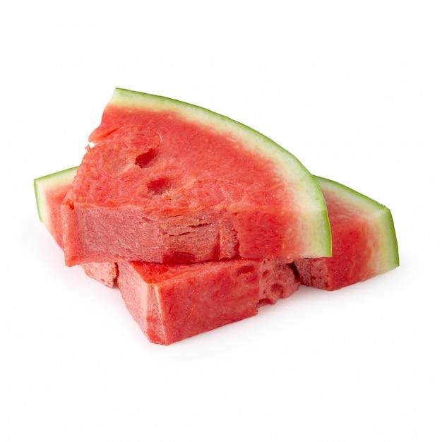 Geschnitten von der wassermelone getrennt
