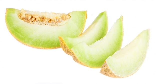Geschnittene melone
