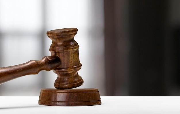 Gesetz und gerechtigkeit konzept