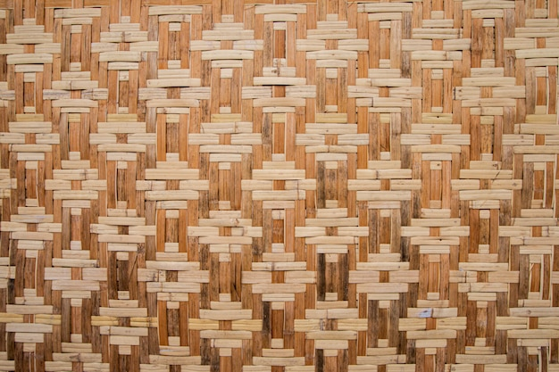 Gesponnene bambusbeschaffenheitsoberfläche