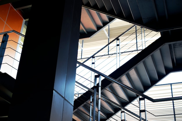 Gestaltung der etage und des treppenhauses des bewohners