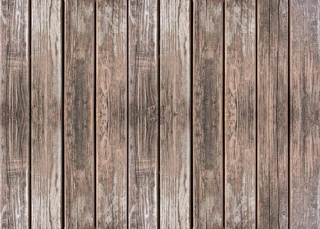 Gestreifter texturhintergrund aus braunem holzbrett