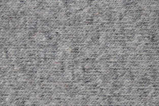 Gestrickter wollstoff vorderseite textilhintergrund