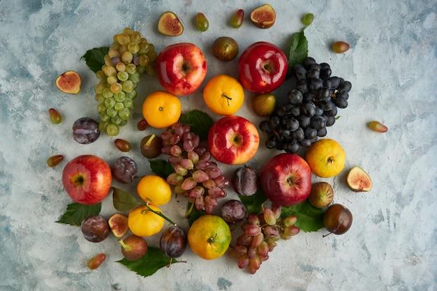 Gesunde bio-früchte