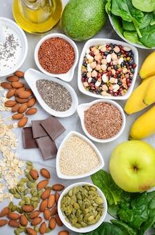 Gesunde ernährung ernährung konzept.