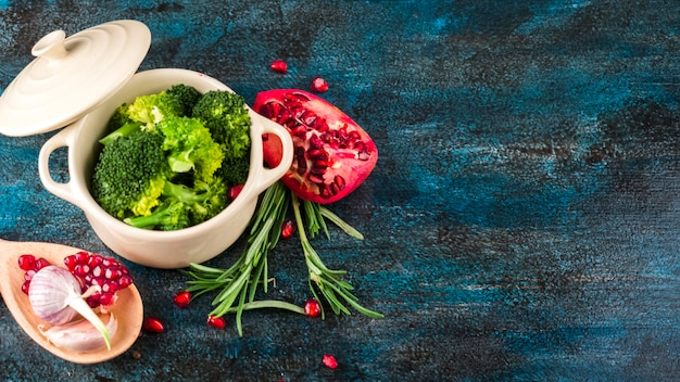 Gesunde lebensmittelzusammensetzung mit elegantem stil