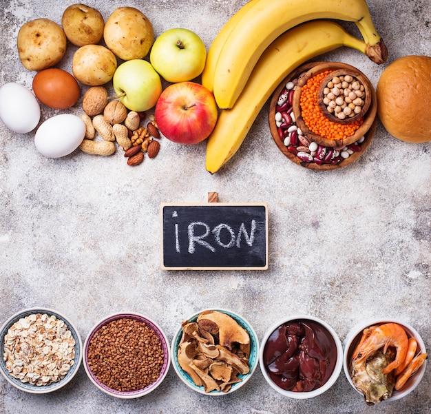 Gesunde produktquellen für eisen