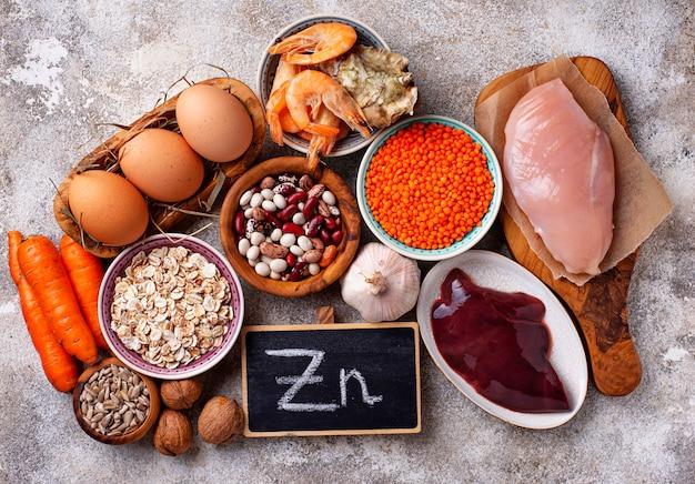 Gesunde produktquellen für zink.