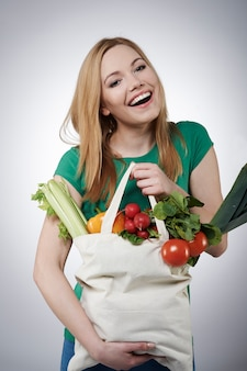 Gesundes essen gibt ihnen ein besseres leben