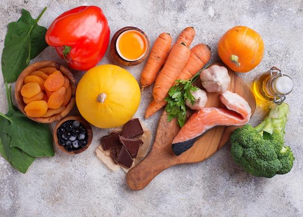 Gesundes essen gut für die vision