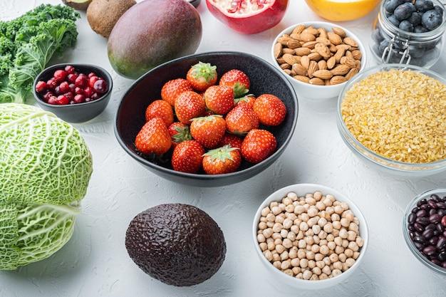 Gesundes essen und sauberes essen