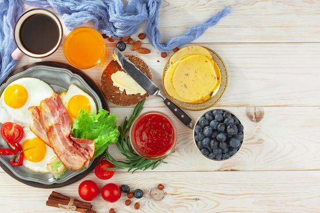 Gesundes frühstück