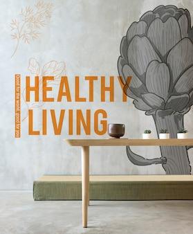 Gesundes leben vitalität wohlbefinden