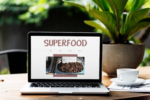 Gesundes natürliches superfood