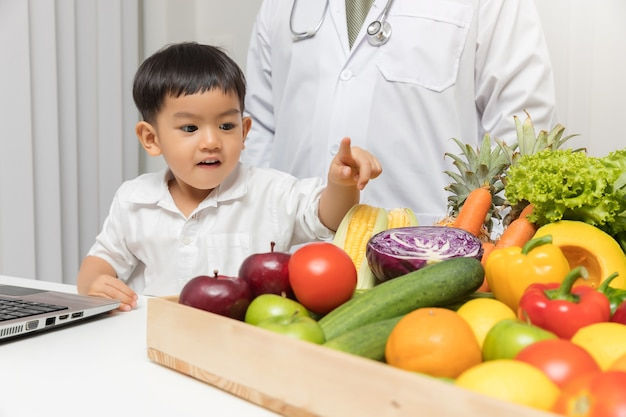 Gesundes und ernährungskonzept.