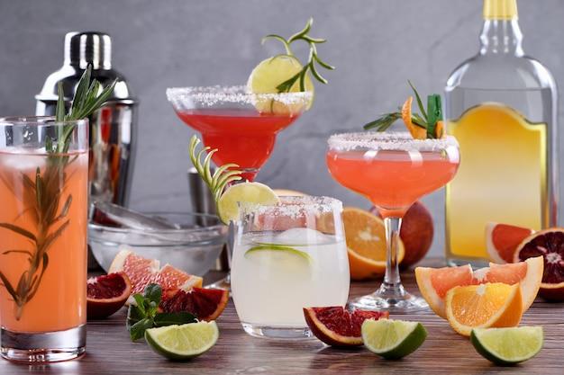 Getränke und cocktails - auf tequila-basis
