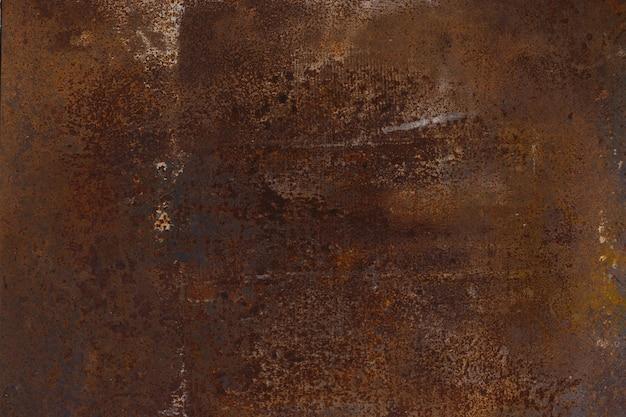 Getragener rostiger metallbeschaffenheitshintergrund.
