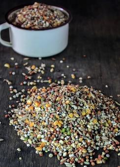 Getreide für tiere