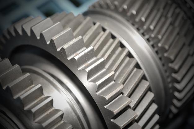 Getriebe close-up