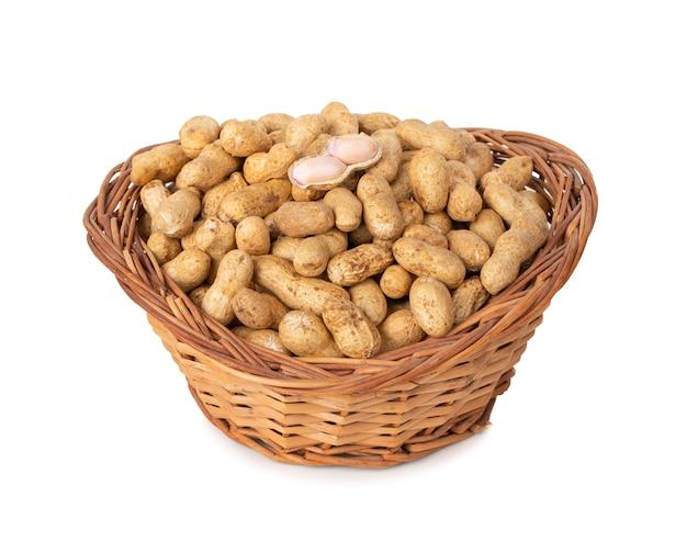 Getrocknete erdnüsse